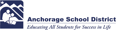 Anchorage School District Fixed Header logo